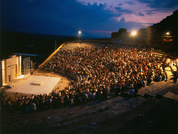 filippoi ancient theater