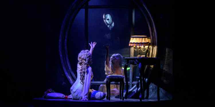 Είδα το «Phantom of the opera»
