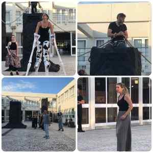 «Προμηθέας Δεσμώτης»: Πήραμε μια πρώτη γεύση από την παράσταση του Άρη Μπινιάρη