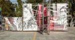 Μία ζωγραφική εγκατάσταση των Kez και Same84 στην Ελευσίνα