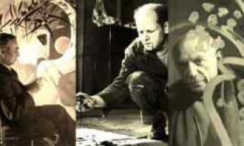 Οι Καντίνσκι, Πόλοκ και Πικάσο ζωγραφίζουν για σένα-Σπάνια βίντεο