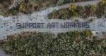 Support Art Workers: Δράση κάτω από την Ακρόπολη (video)